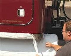 Protection de surface camion